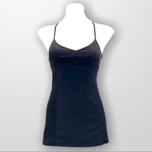 LULULEMON Bend and Flow Tank Black Size 2